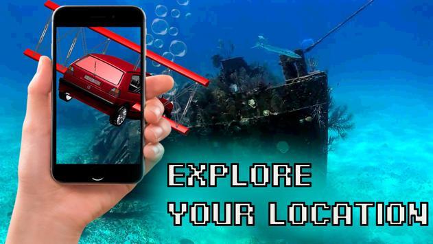Submarine Car 3D AR Simulator screenshot 1