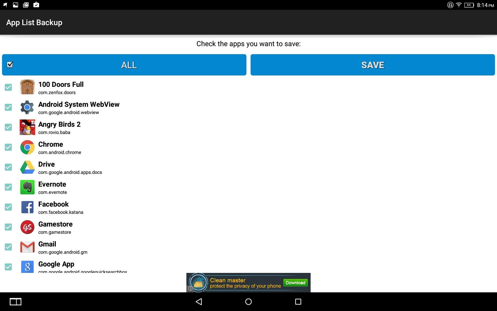 App List Backup for Android - APK Download