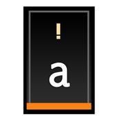 Orange Slate HD Keyboard Theme icon