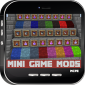 Mini Game MODS For MCPE icon
