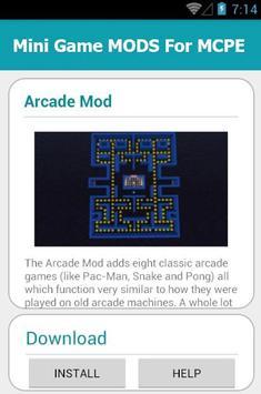 Mini Game MODS For MCPE screenshot 14