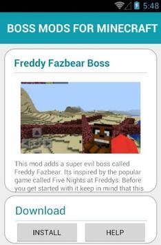 BOSS MODS FOR MINECRAFT screenshot 10