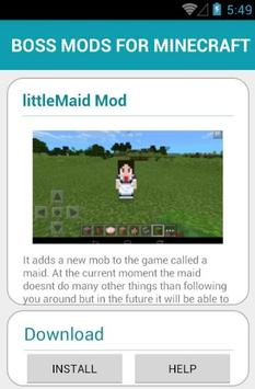 BOSS MODS FOR MINECRAFT screenshot 11