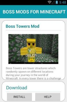 BOSS MODS FOR MINECRAFT screenshot 20