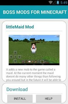 BOSS MODS FOR MINECRAFT screenshot 23