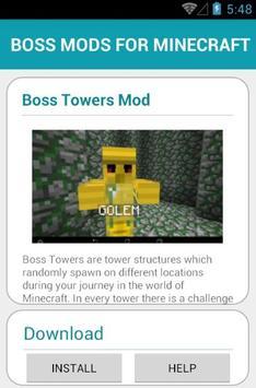 BOSS MODS FOR MINECRAFT screenshot 2