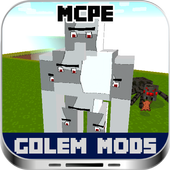 Golem MODS For MCPE icon