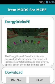 Item MODS For MCPE screenshot 20
