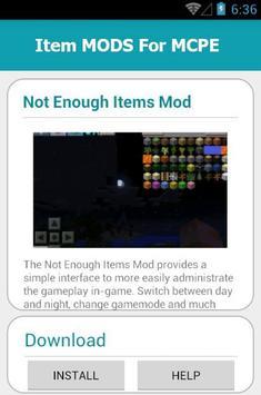 Item MODS For MCPE screenshot 9