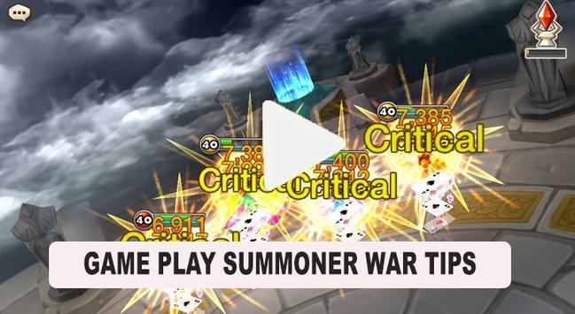 Game Play Sum monner War Tips apk screenshot