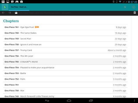 Mangabro - bypass blocking apk screenshot
