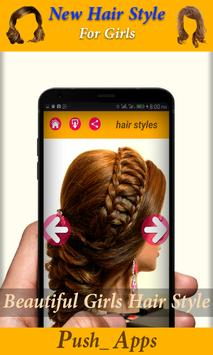 Hair Salon App haircut Style (Free) poster