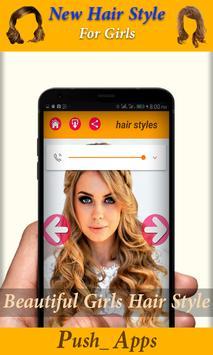 Hair Salon App haircut Style (Free) screenshot 4