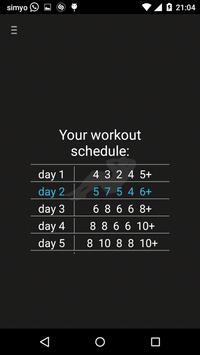 250 Sit Ups 50 days Schedule screenshot 4