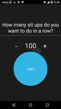250 Sit Ups 50 days Schedule screenshot 5