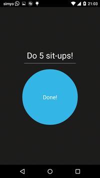 250 Sit Ups 50 days Schedule screenshot 1