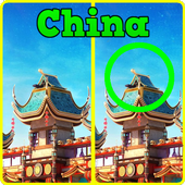 Find differences - China icon