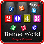 2048 Plus Theme World icon