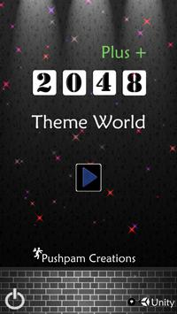 2048 Plus Theme World poster