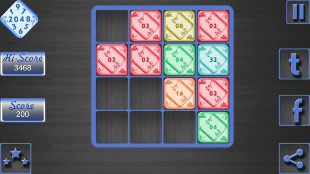 2048 Plus Theme World apk screenshot