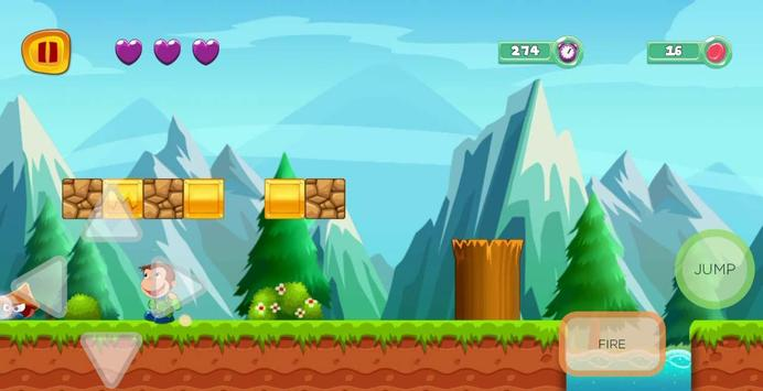 george adventure curious runner in monkey jungle screenshot 1