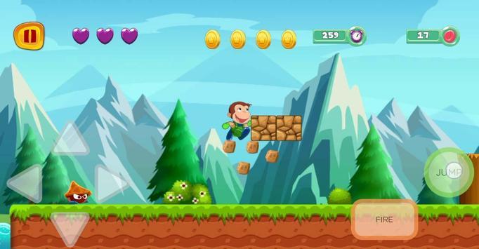 george adventure curious runner in monkey jungle screenshot 2