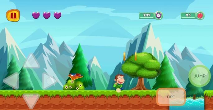 george adventure curious runner in monkey jungle screenshot 4