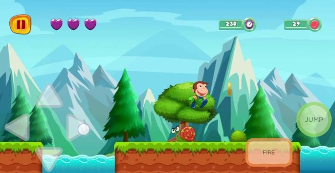 george adventure curious runner in monkey jungle screenshot 5