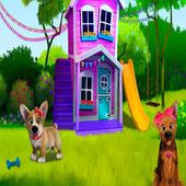 New Puppy Dog jungle adventure icon