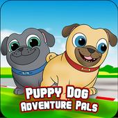 Puppy Adventure Pals Dog - Free Game 2018 icon