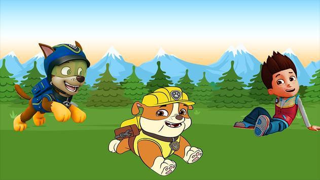 Paw Puppy Patrol - Jumpy Dog poster