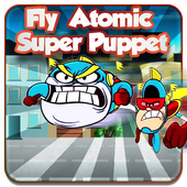 Fly Atomic Super puppet icon