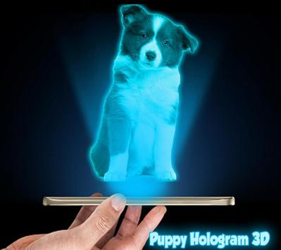 Puppy 3D Hologram Joke apk screenshot