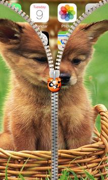 Puppy Zipper Lock apk screenshot