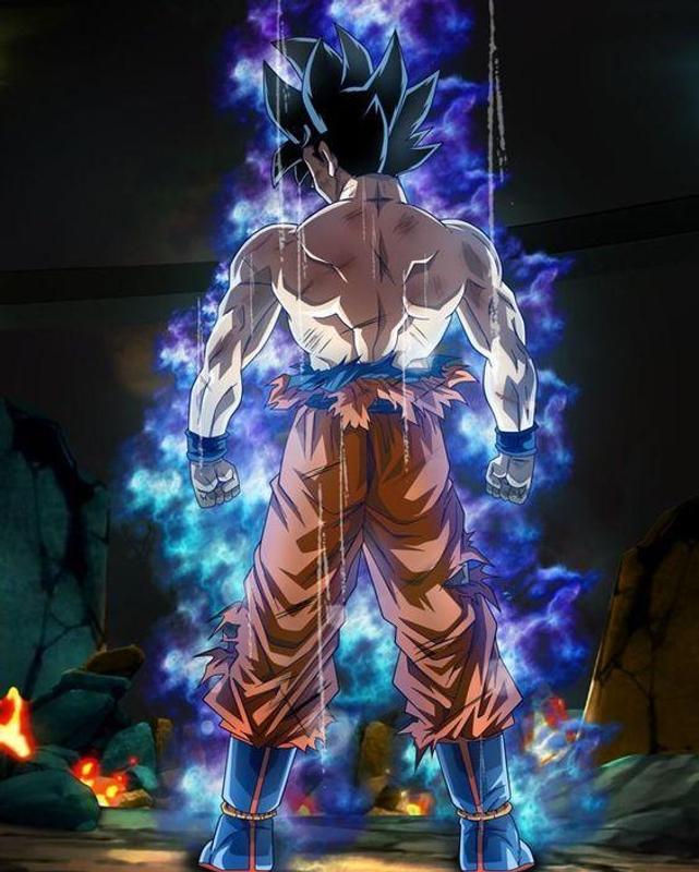 Ultra Instinct Dragon Ball Super Wallpaper: Goku Ultra Instinct Wallpaper DBZ For Android