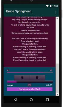 Lyrics MP3 Bruce Springsteen for Android - APK Download