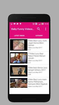 BABY FUNNIEST VIDEOS NEW 2017 | FREE screenshot 8