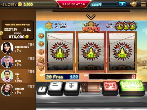 Slot Machine - Wild Wild Pays 🤠Casino Game screenshot 12