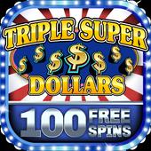 Slot Machine - Triple Super Dollars 🌟 Casino Game icon