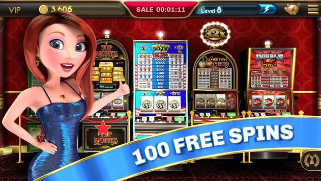 Slot Machine - Triple Super Dollars 🌟 Casino Game poster