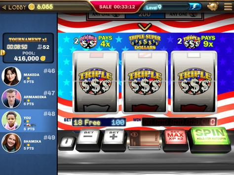 Slot Machine - Triple Super Dollars 🌟 Casino Game screenshot 12