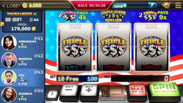 Slot Machine - Triple Super Dollars 🌟 Casino Game screenshot 2