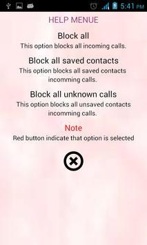 Pure Call Blocker apk screenshot