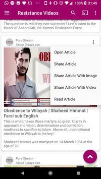 Resistance News screenshot 4
