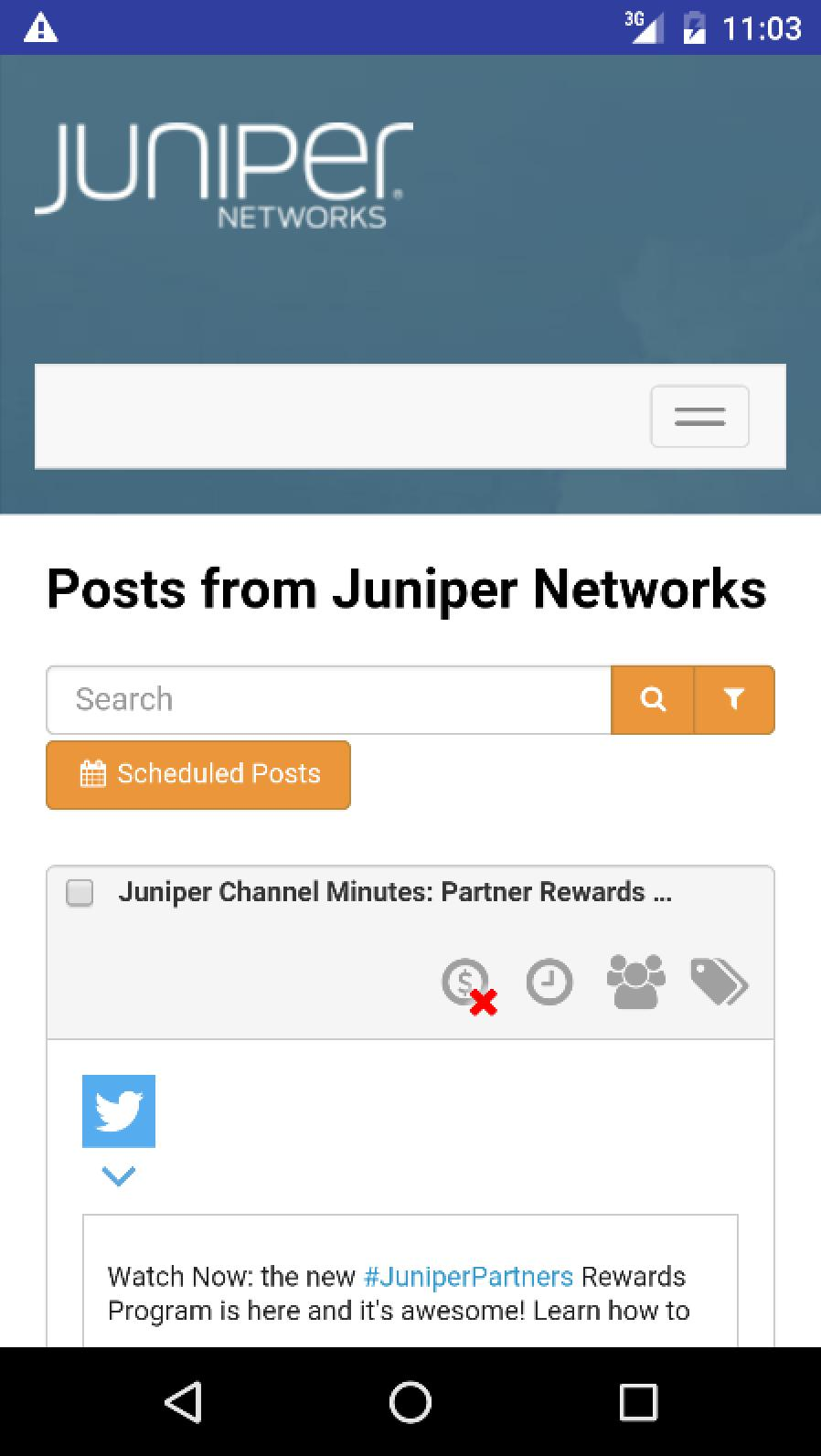 Juniper Networks Social for Android - APK Download