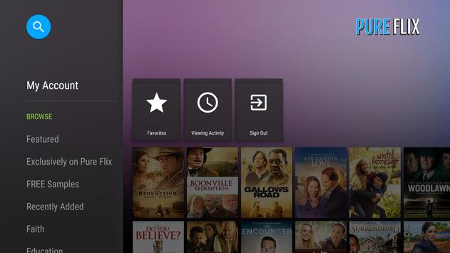 PureFlix (Android TV) poster