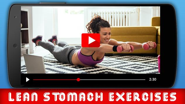 Lean Stomach Exercises poster