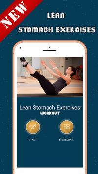 Lean Stomach Exercises screenshot 1