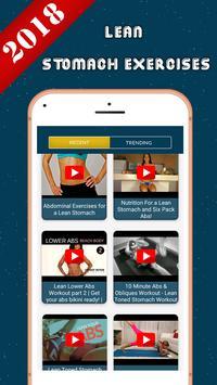 Lean Stomach Exercises screenshot 2