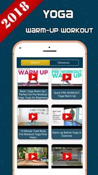 Yoga Warm-up Workout screenshot 2